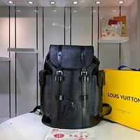 LV Louis Vuitton MEN'S EPI LEATHER CHRlSTOPHER BACKPACK BAG