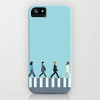 The Beatles iPhone & iPod Case by Victor Trovo Afonso