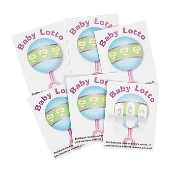 Fun Express - Baby Shower Lotto Game Cards (24 Pieces) 24