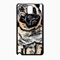 pugs alot dog 25a1fc65-c393-42f0-8ec0-d876fcd1ef27 FOR Samsung Galaxy Note 3 CASE *02*