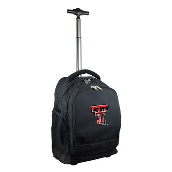 Texas Tech Red Raiders Wheeled Premium Backpack