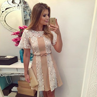 Elegant Casual Short Sleeve Dresses