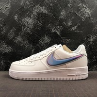 """Nike Air Force 1 Low """"Oversized Swoosh"""" White/Blue"""" - Best Online Sale"""