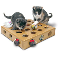 SmartCat Peek-a-Prize Toy Box for Cats - Interactive - Toys - PetSmart