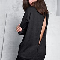 Split-back Tunic Sweater - A Kiss of Cashmere - Victoria's Secret