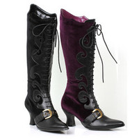 """Women's 2.5"""" Heel Boot with Lace"""