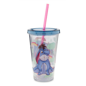 Disney Eeyore Tumbler with Straw | Disney Store