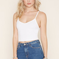 Ribbed Knit V-Neck Cami | Forever 21 - 2000170575