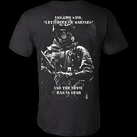 LET THERE BE MARINES T-SHIRT