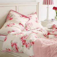 Couture Rose Cotton Bedlinen at LAURA ASHLEY