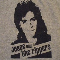 Womens Jesse and The Rippers Full House Rock T-Shirt. Must See.