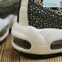 Newest Men Nike Air Max 95 Oyster White Black sneaker