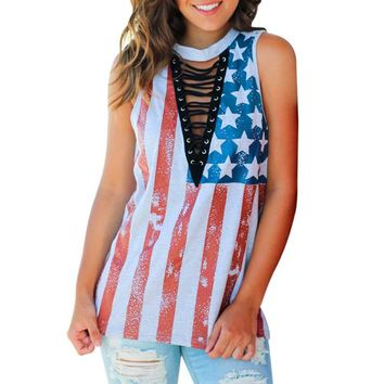 Sleeveless Top 4th July