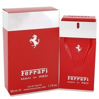 Ferrari Man In Red Cologne By Ferrari Eau De Toilette Spray FOR MEN