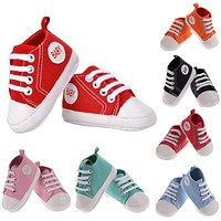 Baby Shoes Casual Spring Autumn Sports Shoes For Girls Kids born Boy First Walkers Children Infant Canvas Shoes Sneakers
