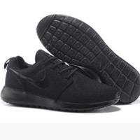 NIKE Women Men Running Sport Casual Shoes Sneakers Pure Black