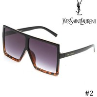 YSL Yves Saint Laurent personality big square square sunglasses