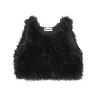 Faux Fur Tank Top