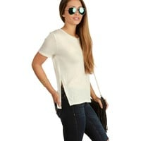 Sale-natural Sunny Side Tee