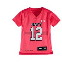 Under Armour Girls' Toddler Navy Replica Jersey