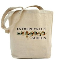 Amazon.com: Astrophysics Genius Tote bag Tote Bag by CafePress: Clothing