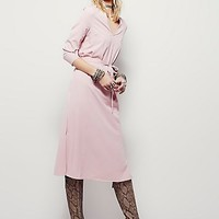 Free People Womens Solid Melody Dress