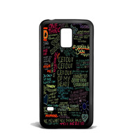 one direction song Samsung Galaxy S5 Mini Case