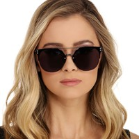 Charcoal Flat Out Mirror Sunglasses