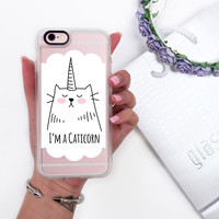 Cat iPhone 6s & 6s Plus Case (I ?m a Caticorn Pattern) by Casetify