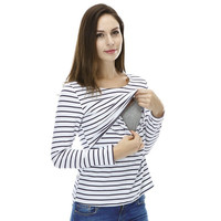 MamaLove Fashion Maternity Clothes Maternity Tops/ t shirt Breastfeeding shirt Nursing Tops pregnancy clothes for pregnant women
