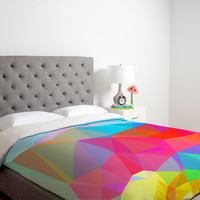 DENY Designs Three of the Possessed Crystal Crush Duvet Cover Collection