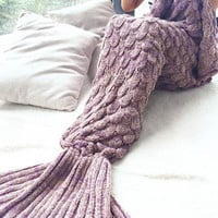 New Mermaid Party to Be Adored Blanket Autumn&Winter Gift