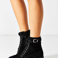 Karen Suede Lace-Up Ankle Boot - Urban Outfitters