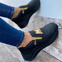 New women's thick-soled lazy one-legged casual shoes