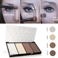 4 Colors Concealer Highlighter Powder