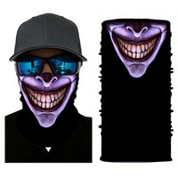 ADK Boys Mask For The Face Party Terro Masks Neck Warmer Outdoor Magic Sports Pirate Cap Riding Hiking