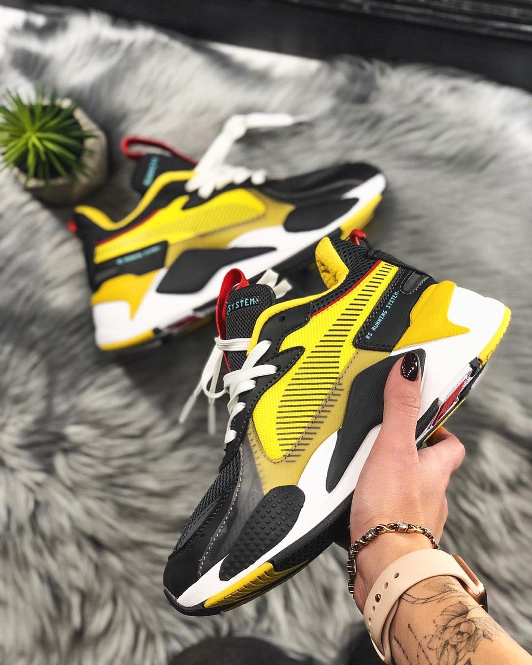 Image of shosouvenir PUMA RS-X TOYS Colour collision stitching daddy shoes men and women's leisure running shoes