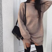 Classic Sweater Dress