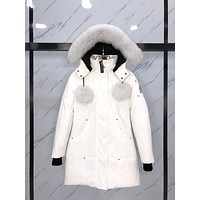 Moose knuckles Women's Men's Kensington Parka Coat down jacket Fashion jacket