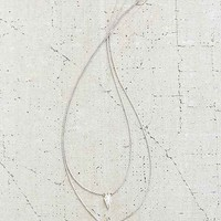 Luv Aj Double Marble Charm Necklace-