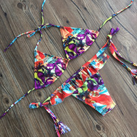 Summer Hot New Arrival Swimsuit Beach Sexy Ruffle Stylish Swimwear Bikini [10603726479]