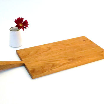Serving Platter - Solid Cherry