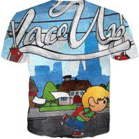 MGK Lace Up Tee