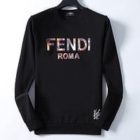 Fendi Men Fashion Casual Top Sweater Pullover