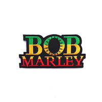 Bob Marley Applique Iron on Patch