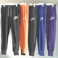 """Nike"" Women Fashion Gym Yoga Running Sweatpants ( 5-color )"