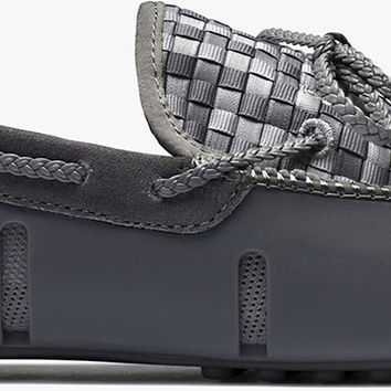 SWIMS Woven Lace Loafer - Gray