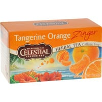 Celestial Seasonings Herbal Tea - Caffeine Free - Tangerine Orange Zinger - 20 Bags