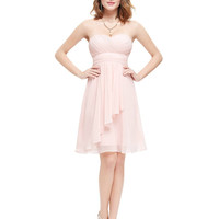 Women Clothing Dresses Alisa Pan HE03540 Coral Sweetheart Neckline Strapless