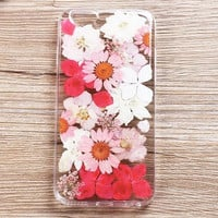 Dried and Pressed Flower Resin Iphone Cases for 6 6s plus
